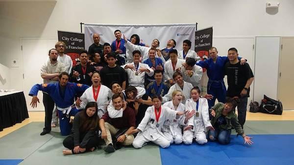 CCSF summer 2017 jiu-jitsu class